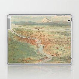 Vintage Pictorial Map of Portland OR (1896) Laptop & iPad Skin