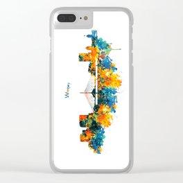 Winnipeg Skyline Clear iPhone Case