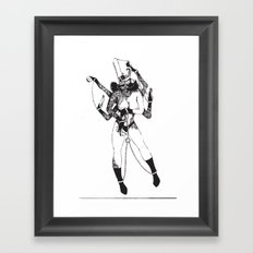Bondage Burn Victim (Anthony Cooper) Framed Art Print