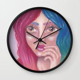 Femme Figment Wall Clock