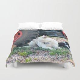 Farm Dogs Duvet Cover
