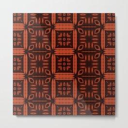 Rusty Squares Metal Print