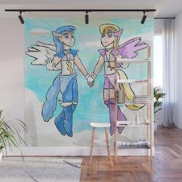 Magical Bronie Boys Lightning Bolt And Cloud Kicker Wall Mural