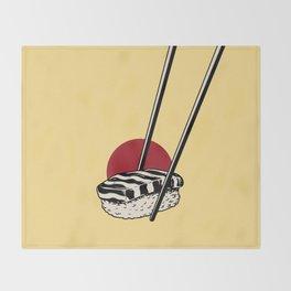 Sushi-San Throw Blanket