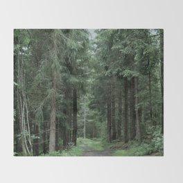 Running Path Throw Blanket