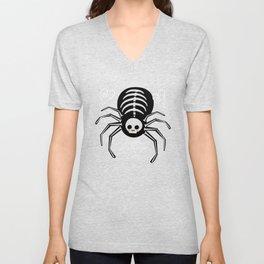My Skeleton Friends - Spider Unisex V-Neck