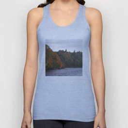 Autumn from Ness Island Inverness Unisex Tank Top