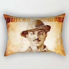 Shaheed-E-Azam Bhagat Singh Rectangular Pillow