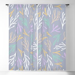 Dried Leaves Blackout Curtain