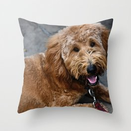 Good Doggo Throw Pillow