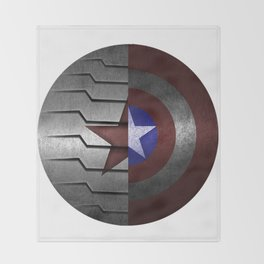 Stucky Shield Throw Blanket