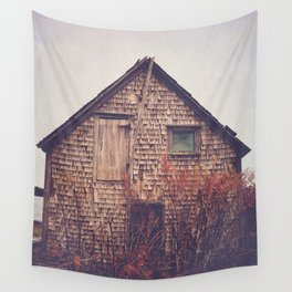 She Created Stories About Abandoned Houses Wall Tapestry
