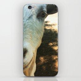 Goat Friend iPhone Skin
