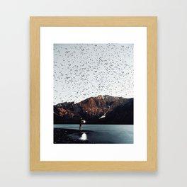 Goals Reflect Your Choice of Destination Framed Art Print
