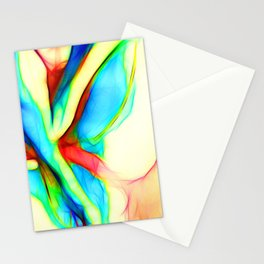 Womans`lap Stationery Cards
