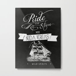 Nuda Veritas II Metal Print