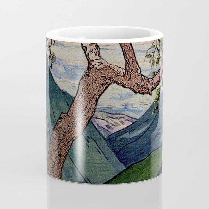 The Downwards Climbing Coffee Mug