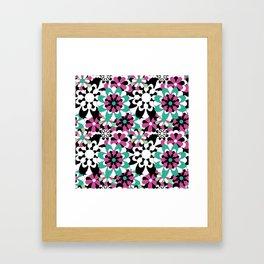 Tutti Fiori (pink) Framed Art Print