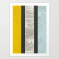 marble Art Prints featuring Marble by FLATOWL