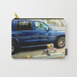 Wheel-of-fortunate Street Trash Carry-All Pouch
