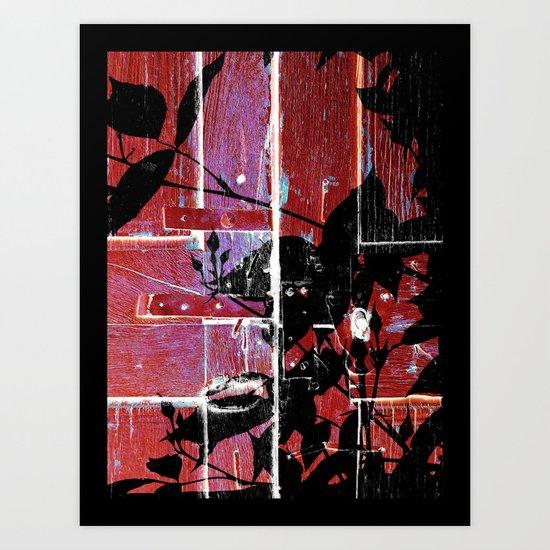 Lunn Series 3 of 4 Art Print