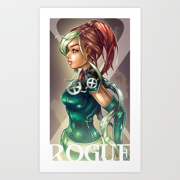 ROGUE Art Print