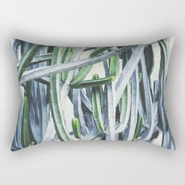 Green Crush Cactus I Rectangular Pillow