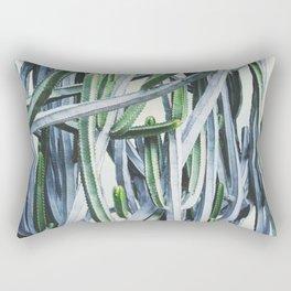 Green Crush Cactus I Rectangular Pillow