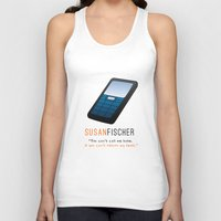 oitnb Tank Tops featuring Fischer | OITNB by Sandi Panda