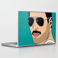 dc comics Laptop & iPad Skins featuring comics   by mark ashkenazi