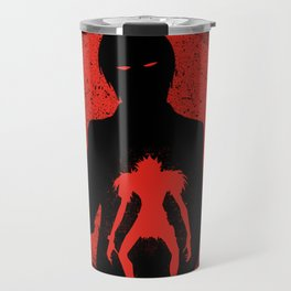 Red Light Ryuk Design Travel Mug