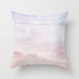 Magic Waves Throw Pillow