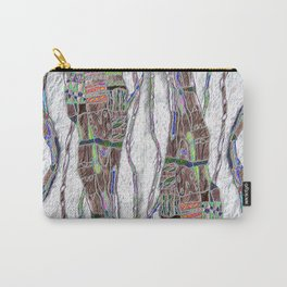 Weaving the Thread: Strands of Life Carry-All Pouch