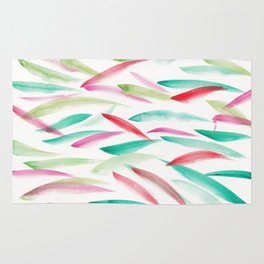 6  | Watercolor Patterns Abstract 181212 Rug