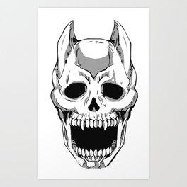 Killer Queen Skull (JoJo's Bizarre Adventure) Art Print