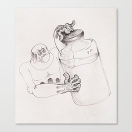Bottler Canvas Print