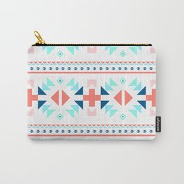 geometry navajo pattern Carry-All Pouch