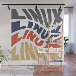 Linux - Font Graphic Wall Mural