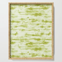 Stratus Moss Green Serving Tray