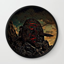 Fallen Hero Wall Clock