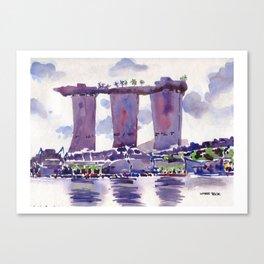 20140318 Marina Bay Sands Canvas Print