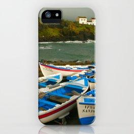 Portuguese harbour iPhone Case