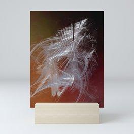 Mercury in Capricorn Cardinal Earth - #Abstract #Art #Illustration by Menega Sabidussi #society6 Mini Art Print