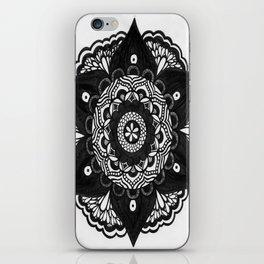 Flower Mandala Number 2 iPhone Skin