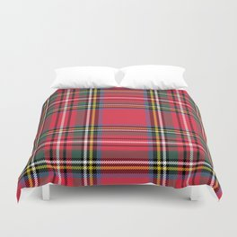 Red & Green Tartan Pattern Duvet Cover