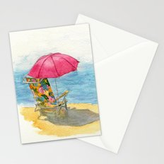 Beach Chair Stationery Cards