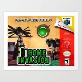 Home Invasion 64 Art Print