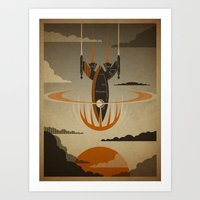 return Art Prints featuring The Return by Danny Haas