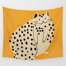Lazy cat afternoon Wall Tapestry