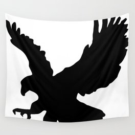 Eagle Silhouette Wall Tapestry